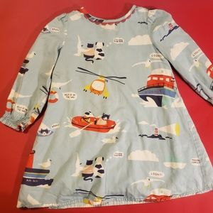 mini Boden rescue vehicle dress NWOT. 3Y